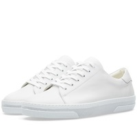 A.P.C. Retro Leather Sneaker White
