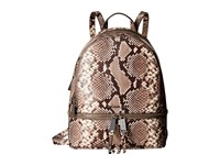 Michael Michael Kors Rhea Zip Sm Backpack Natural Backpack Bags Beige