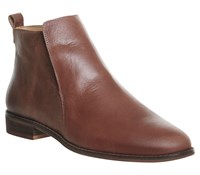 Office Apollo Casual Flat Boots Tan
