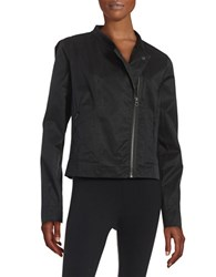 Bench Asymmertical Zip Front Jacket Black