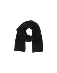 Cycle Oblong Scarves Black