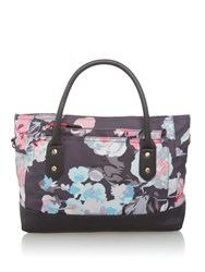 Joules Coated Canvas Tote Multi Coloured Multi Coloured