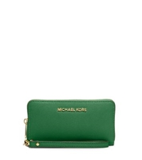 Michael Kors Jet Set Travel Large Phone Wristlet For Iphone And Samsung Gooseberry