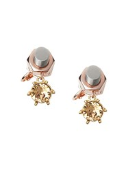 Burberry Crystal Charm Rose Gold