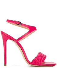 Deimille Ankle Strap Sandals Pink