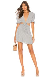 Privacy Please Castana Mini Dress Gray