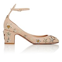Valentino Women's Tango Ankle Strap Pumps Pink