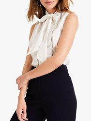 Damsel In A Dress Caydence Broderie Blouse White