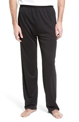 Majestic International Men's Big And Tall Work Out Lounge Pants Black