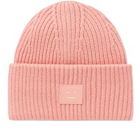 f38c2a9670a Acne Studios Pansy S Face Beanie Pink