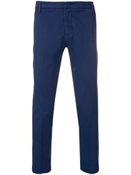Entre Amis Classic Chinos Blue
