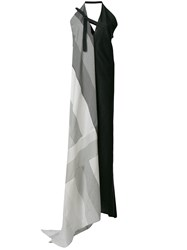 Lost And Found Ria Dunn Striped Long Dress Black