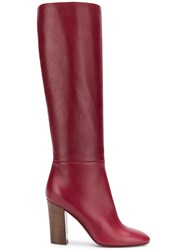 Michel Vivien Avery Knee Length Boots Red