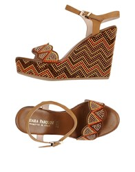 Chiara Pasquini Sandals Brown