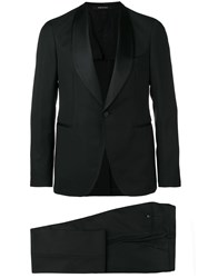 Tagliatore Two Piece Evening Suit Black