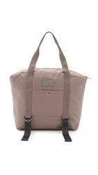 Adidas By Stella Mccartney Yoga Bag Natural Grey Raven