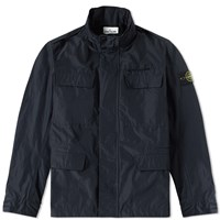 Stone Island Micro Reps Field Jacket Blue