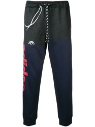 Adidas By Alexander Wang Originals Side Panelled Track Pants Blue