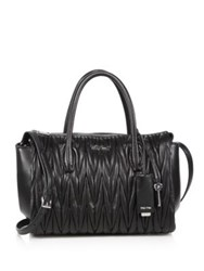 Miu Miu Matelasse Leather Satchel Astrale
