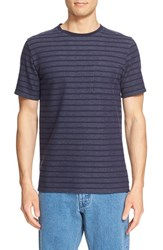 Saturdays Surf Nyc Men's 'Randall' Stripe Crewneck T Shirt