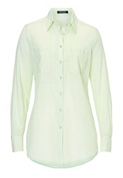 Betty Barclay Long Cotton Blouse Pastel Green