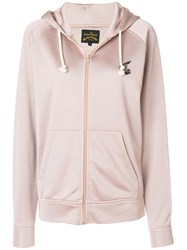 Vivienne Westwood Zipped Hoodie Pink And Purple