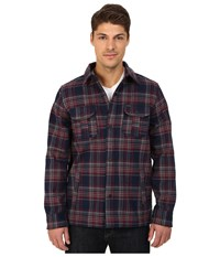 Hurley Redding Long Sleeve Shirt Jacket Obsidian Men's Coat Brown