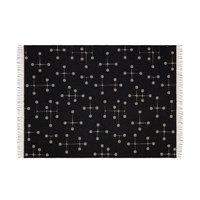 Vitra Eames Dot Pattern Blanket Black