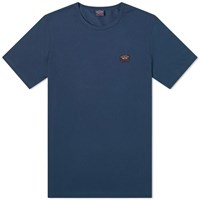 Paul And Shark Patch Logo Tee Blue