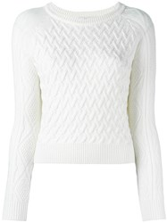 Blugirl Knitted Sweater White