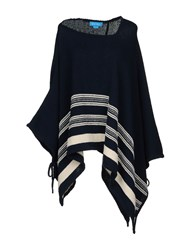 Mih Jeans M.I.H Capes And Ponchos Dark Blue