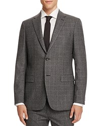 Theory Houndstooth Plaid Gole Slim Fit Sport Coat 100 Bloomingdale's Exclusive Black