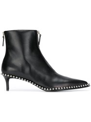 Alexander Wang Studded Ankle Boots Black