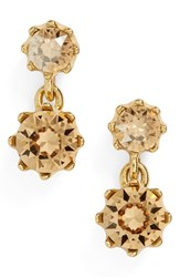 Ted Baker Women's Conolle Crystal Drop Earrings Gold Color