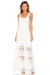 Haute Hippie The Lace Layers Dress White