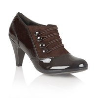Lotus Kyrene Court Shoes Brown