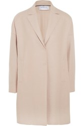 Harris Wharf London Oversized Wool Felt Coat Ecru
