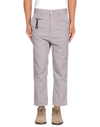 Htc Trousers Casual Trousers Men Grey