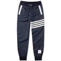 Thom Browne Technical Ripstop 4 Bar Pant Blue