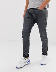 G Star D Staq 3D Skinny Fit Jeans In Dark Aged Cobler Blue