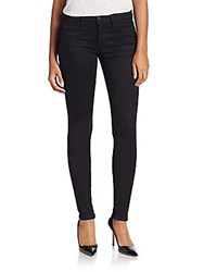 Joe's Jeans Slim Fit Skinny Jeans Black