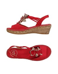 Toni Pons Footwear Sandals Red