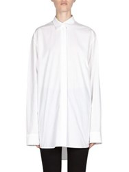 Acne Studios Button Down Blouse White