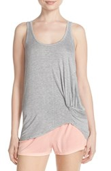 Women's Splendid Knotted Tank And Pajama Shorts