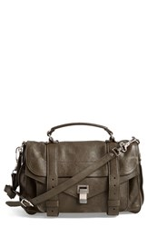 Proenza Schouler 'Medium Ps1' Satchel Green Military