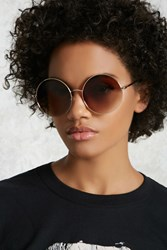 Forever 21 Round Ombre Sunglasses