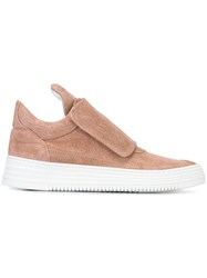 Filling Pieces 'Low Top' Sneakers Pink And Purple