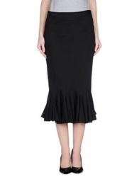 Gaetano Navarra 3 4 Length Skirts Black