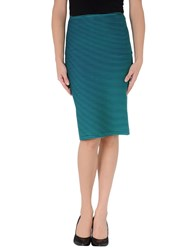 Opening Ceremony Skirts Knee Length Skirts Women Emerald Green