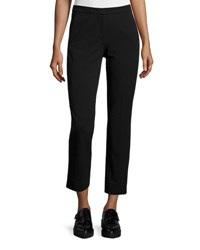 Derek Lam Drake Slim Leg Cropped Pants Black